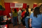 Visitors to our booth at 2005 Best in Amarillo